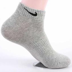 3 Pairs Male Brand Men Ankle Low Cut Cotton Socks Casual Dre