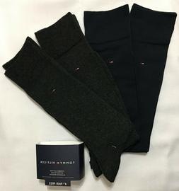 Tommy Hilfiger 4-Pair Combed Cotton Casual/Dress Socks  Navy