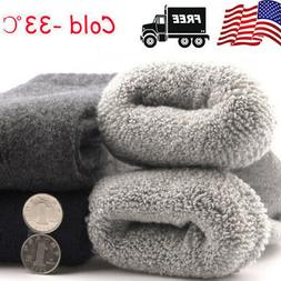 4Pairs US Mens Warm & Soft Comfort Wool Cashmere Large Winte