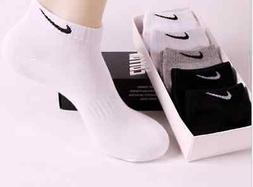 5 Pairs Male  Brand  Men  Ankle Low Cut Cotton Socks  Casual