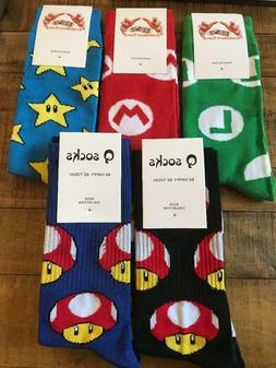 Pairs of Super Mario World Dress Socks Sox