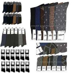 6 12 pairs men s dress socks