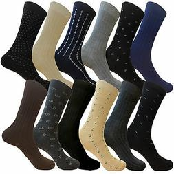 6 PAIR WOMEN DRESS SOCKS ARGYLE DIAMOND COTTON ANTIFATIGUE D