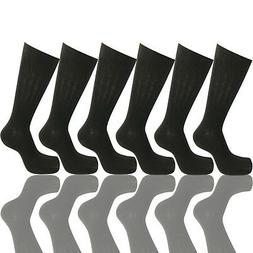 6 PAIRS NEW COTTON MENS LORDS RIB STYLE DRESS SOCKS SIZE 10-