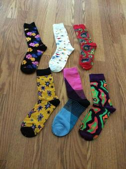6 Prs WeciBor Men's Colorful Dress Party Socks  Lot #1