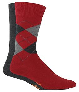 Lot 4 Pair Mens Dockers Dress Argyle Crew Socks 6-12 D21036