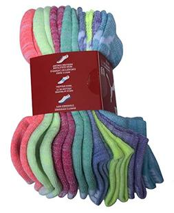 PUMA Girls No Show Sport Socks 8 Pack
