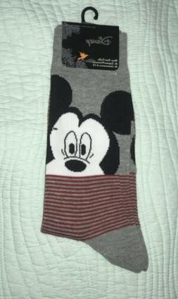 Planet Sox Disney Mickey Mouse Casual Dress Grey Red Black S