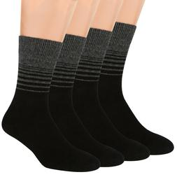 Air Wool Socks Striped, Merino Wool Organic Cotton Thermal W