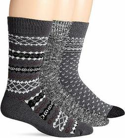 Amazon Brand - Goodthreads Men's 3-Pack Fair Isle Socks - Ch