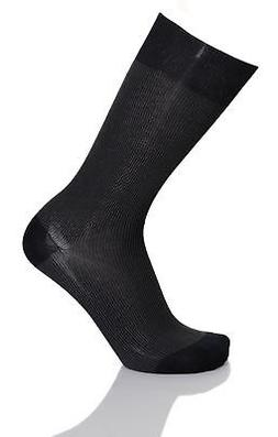Vannucci Couture Mens Mercerized Cotton Blend Dress Socks Wi
