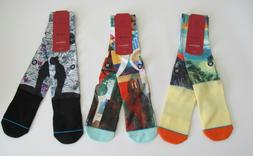 Stance D Wade Collection Socks Mens Sz L/XL New 3 Pair Bundl