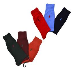 Polo Ralph Lauren Dress Socks 3 Pack Mens Pony Logo Professi