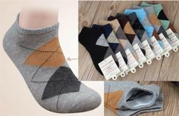 Fashion Men's Kids Socks Argyle Dress Socks New Ankle Cotton