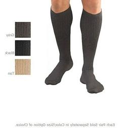 FLA Activa Mens Microfiber Compression Firm  Dress Socks - 2