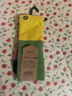STANCE Fusion Dress Crew Socks Men's L Large  Politan. Multi