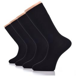 MEN Dress BAMBOO Socks, MEDIUM, Business, 4-Pair, High Quali