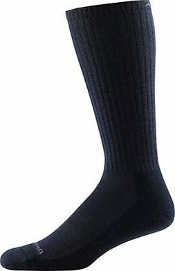 Darn Tough Standard Issue Mid Calf Light Sock,  Black,  Medi