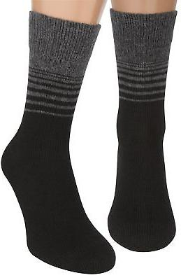 Hiking Trekking Dress Socks, 2 packs Thin Merino Wool Organi