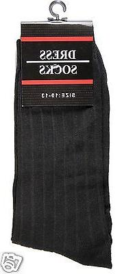 New Pairs Mens Ribbed Casual Multi Color Size 10-13