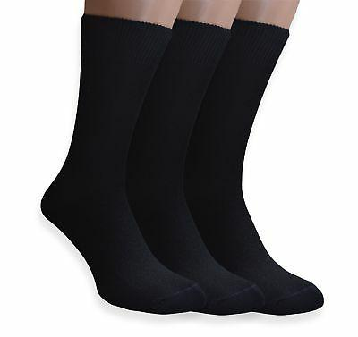 PETANI Mens Socks, 3 pack Rich European Dress Organic Cotton