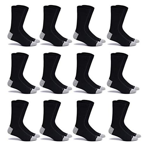 cotton dress socks 7 12 pairs thin