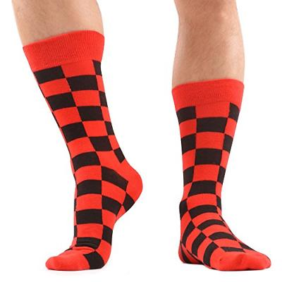 WeciBor Men's Colorful Funny Cotton Socks 12