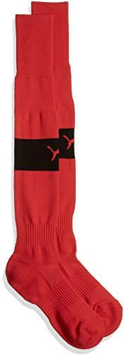 Puma Men's Power Tech Socks, Puma Red/Puma Black, 7-12