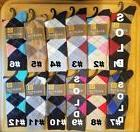 GOLD TOE Men's Premier Cotton Blend Dress Multi-Color Socks