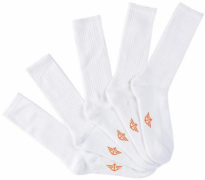 mens 5 pk sport crew socks