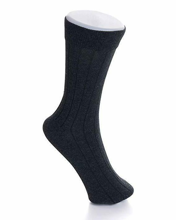 Alpine 6 Dress Socks Solid Size 6-12