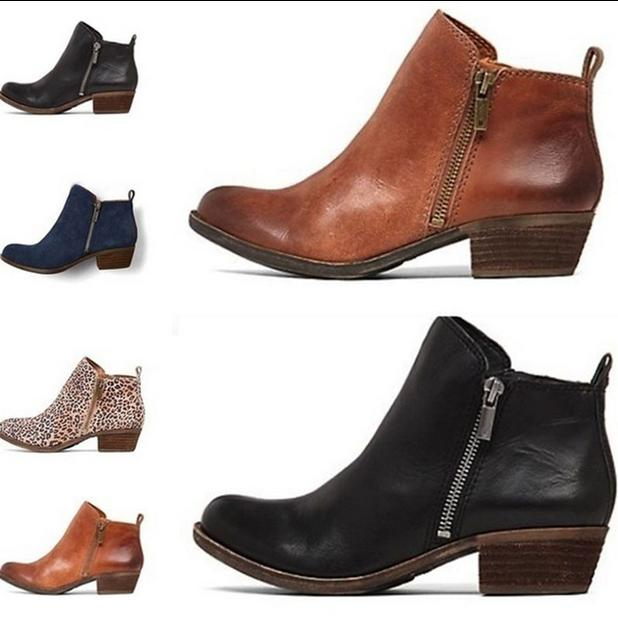 New Women's Low Ankle Round Toe Casual