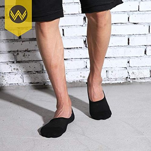 No Socks Pack Slip Low Cut Invisible