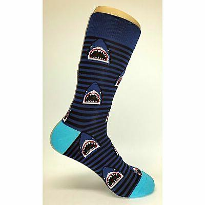 NWT Shark Dress Socks Novelty