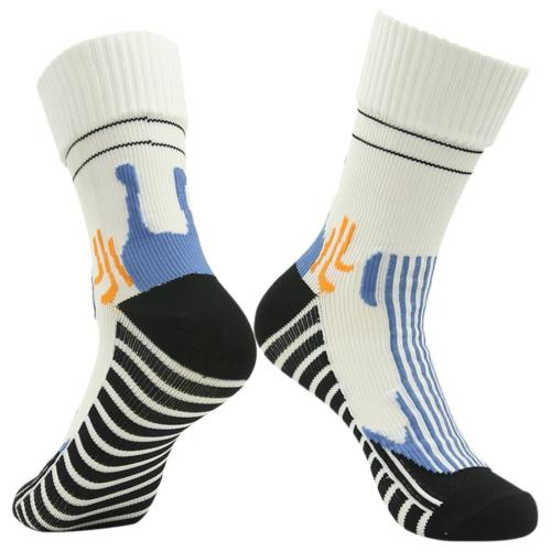 RANDY SUN Water Resistant Socks, Men's Sports Dress Socks Wh