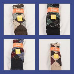 Levi's Dockers Big and Tall Classic Argyle Sock 3 Pack Fits