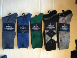 Chaps Men Dress Casual Socks Antimicrobial Designs New Tag G