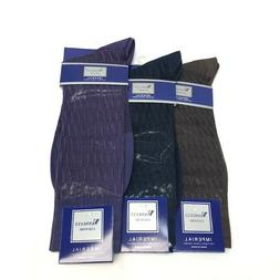 Men's Vannucci Couture 100% Nylon Dress Socks Size 10 - 13