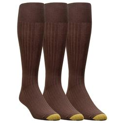 Gold Toe Men's Canterbury Over the Calf Dress Sock 4 PK 12 P