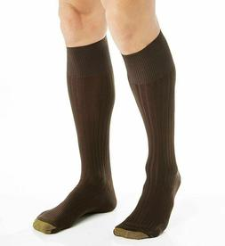 Gold Toe Men's Canterbury Over-the-Calf Dress Socks NWT Shoe