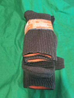 Dockers Men's Cushion Comfort Crew Socks 5 Pack NWT Black Gr