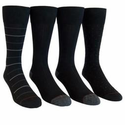 Kirkland Signature Men's Cushion Foot Dress Socks - 4 Pairs