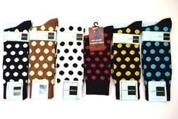Men's Dress/Casual  Socks Black, White, Red, Brown, Cream &