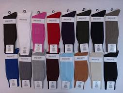 Men's Dress Socks Stacy Adams Solid Plain 21 Colors Size 6-1