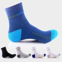 Men Thick Cotton Sports Crew Socks Casual Dress Running Busi
