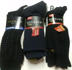 GOLD TOE Mens Assorted 4 Packs Casual Dress SOCKS NEW Size 6