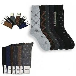 pattern dress casual socks cotton