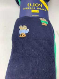 Polo By Ralph Lauren Polo Bear Playing Golf 4 Pairs Of Mens