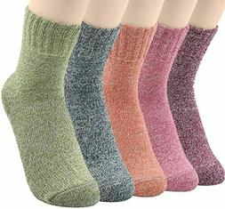 Men's 5 Pairs Warm Winter Thick wool Mixture Cashmere Casual